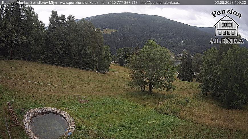 Webcam Skigebiet Spindlermühle cam 40 - Riesengebirge